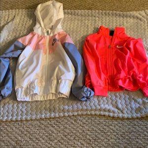 2 Nike 4T Jackets